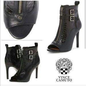 Vince Camuto Ankle Peep Toe Heels Booties